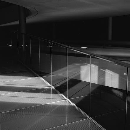 Material Matters: Glass #glass #london #foster #hand #rail #handrail ##fritt #fritting