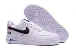 0f483a531 Nike Air Force 1 '07 x Supreme x The North Face White Black AR3066 ...