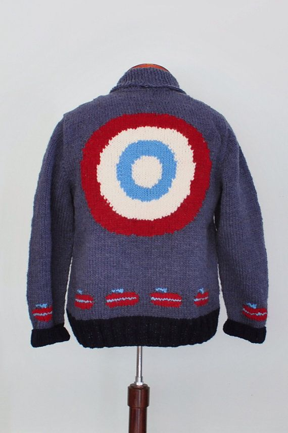 Curling Sweater on Etsy, $139.00