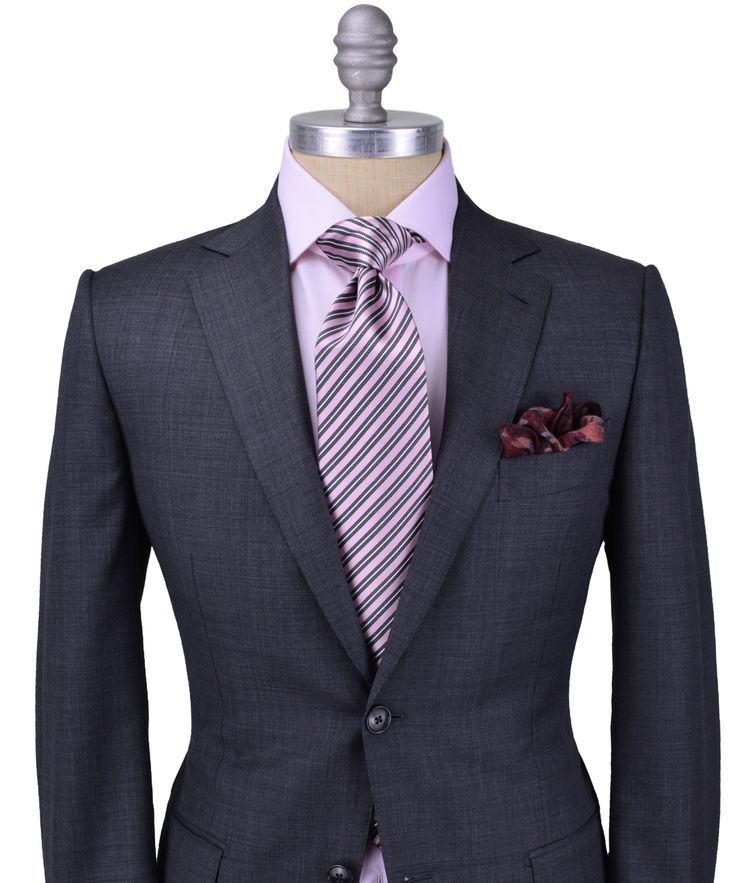 Dark grey suit combinations hardon clothes for Shirt and tie for charcoal suit