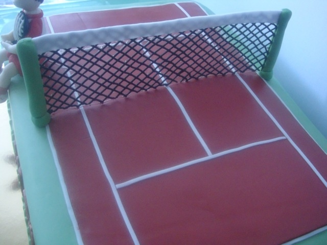 How To Make A Tennis Net For A Cake