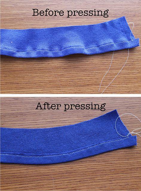 Hemming stretchy KNIT fabrics. 6 ways to beat those pesky puckers! Very helpful.