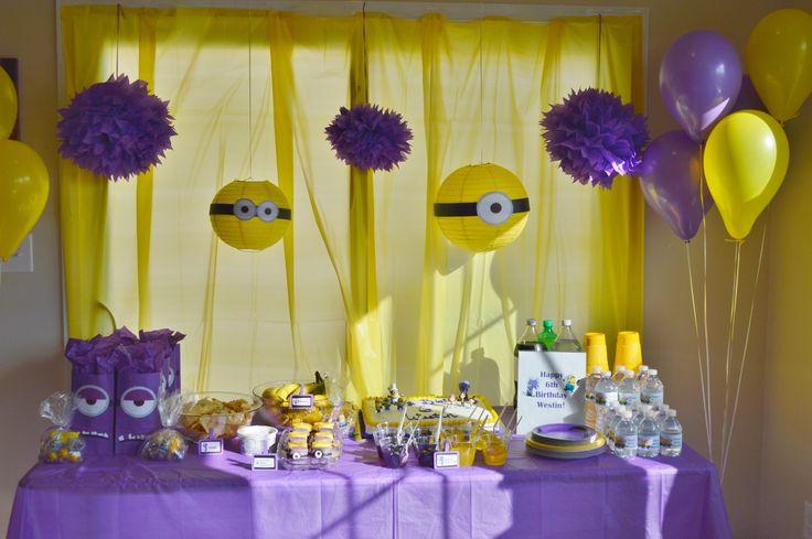 Purple Minion Party