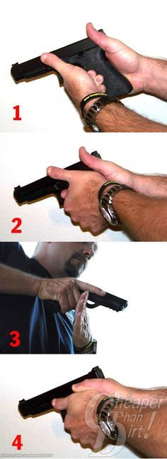 Developing a proper grip on your handgun will give you the single-biggest measurable improvement in your shooting. Here's how to do it.