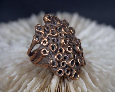 octopus ring | Laura Volpi