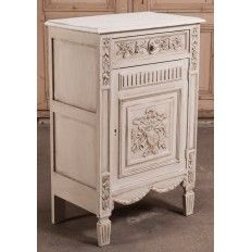 Antique Country French Painted Confiturier - Inessa Stewart's Antiques