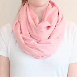 DIY circle scarf - A last minute holiday gift!