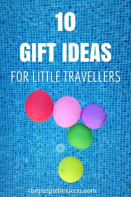 Gift ideas for little travelers (Christmas, birthday, etc)