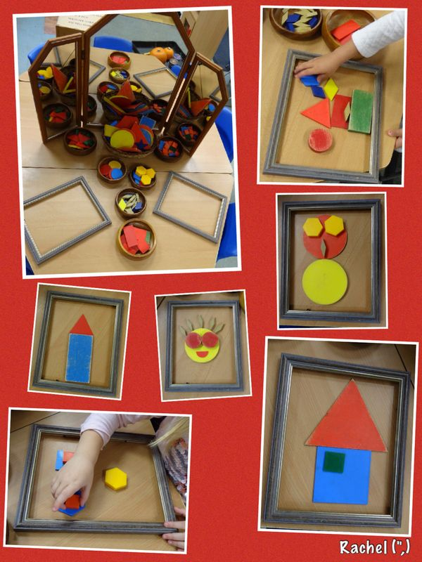 "Shape pictures with frames to define the space from Rachel ("",)"