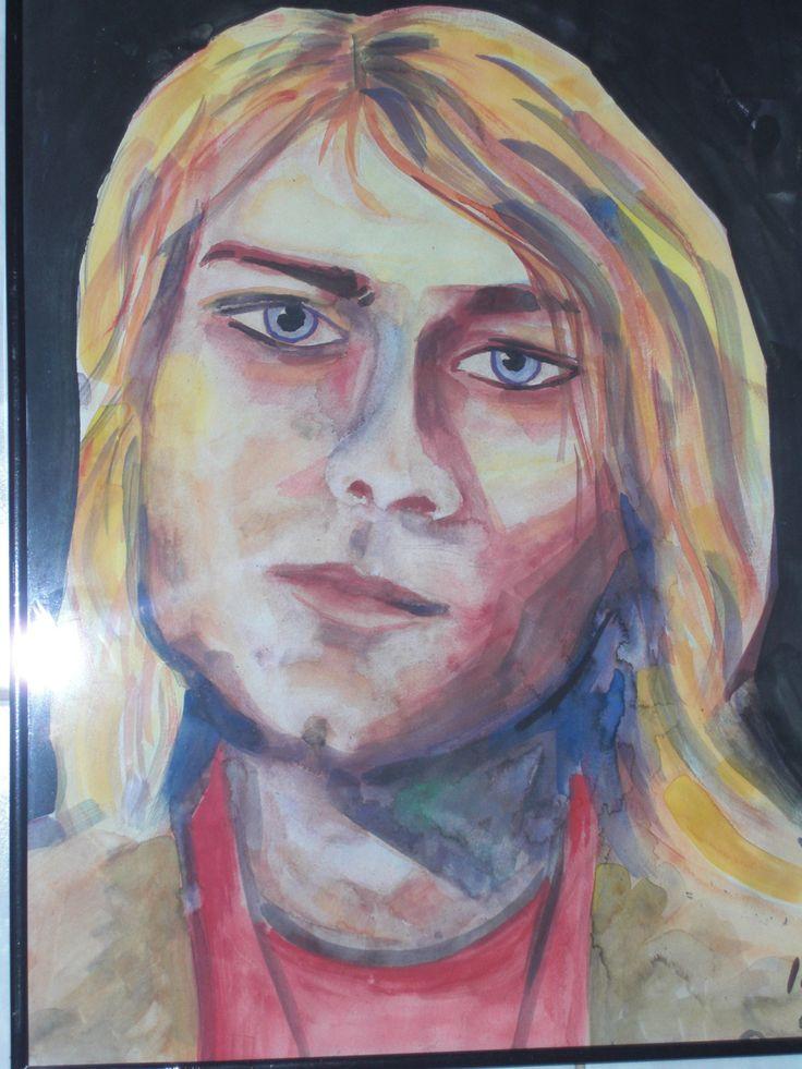 Kurt Cobain: Innocence.  Omer Haluk Yilmaz