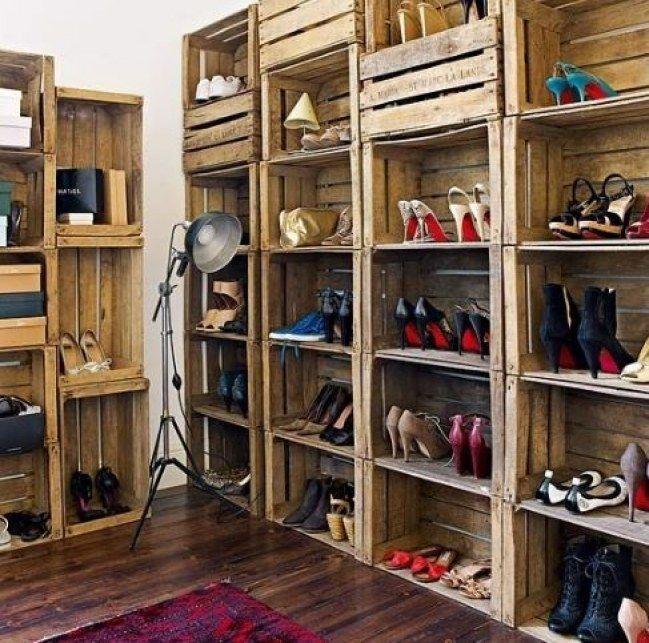 Schuhregal selber bauen weinkisten  Die besten 10+ Schuhregal weinkisten Ideen auf Pinterest ...