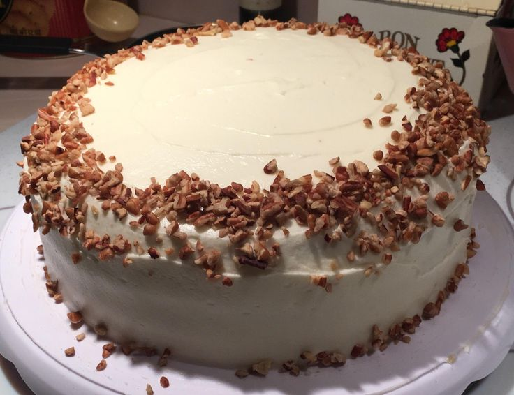 Made this hummingbird cake! #baking #cooking #food #recipes #cake #desserts #win #cookies #recipe #cakes #cupcakes