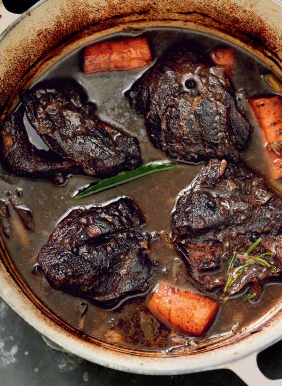 Braised Beef Cheeks (Brasato di Guanciale di Manzo)
