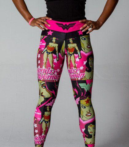 Wonder Woman Leggings | Wonder Woman Workout | Sexy Workout Gear | FéTre Designs