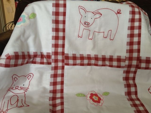 Luxurious Baby Quilt