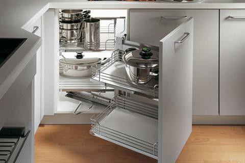 Magic Corner Hoekkast Oplossing Voor De Keuken