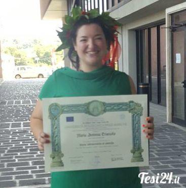Congratulazioni Maria Antonia!