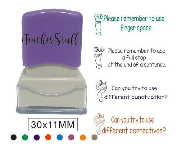Personalized Teacher Stamp Self Inking Stamp Custom