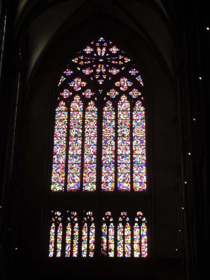 Fenster von gerhard richter im k lner dom http www for Fenster 0 95