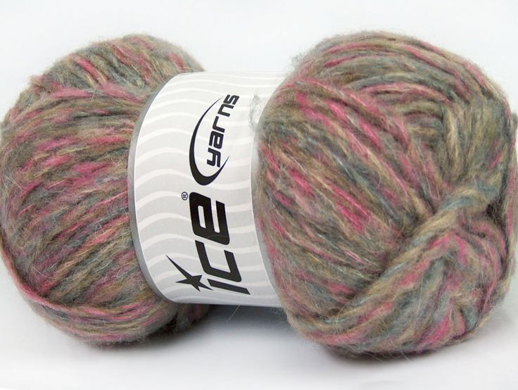 Composition 43% Acrylique 27% Polyamide 15% Mohair 15% Laine Pink Lilac Brand ICE Blue Beige fnt2-41166