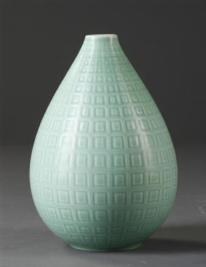 Nils Thorsson for Aluminia, Marselis vase