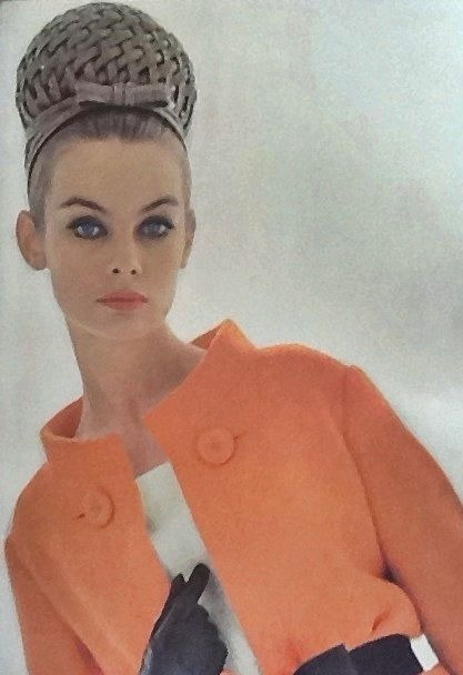 Jean Shrimpton in Vogue Paris Supplement for Spring 1963 photographed by David Bailey (Thanks to Jane Davis)
