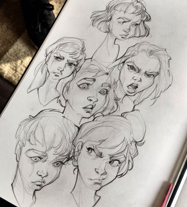 Expression sketches                                                                                                                                                                                  More