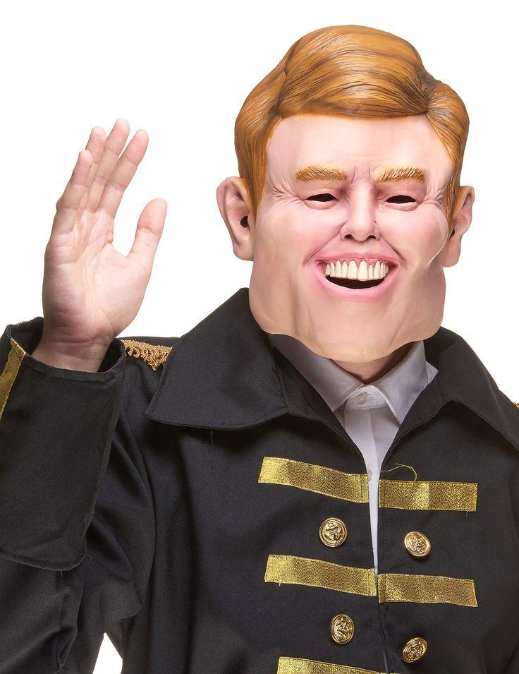 Máscara humorística látex Guillermo Alexandre adulto: Esta máscara de látex para adulto es la caricatura del rey Willem de los Países Bajos.Es integral con orificios en ojos, boca y orejas.Conviértete en rey con esta...