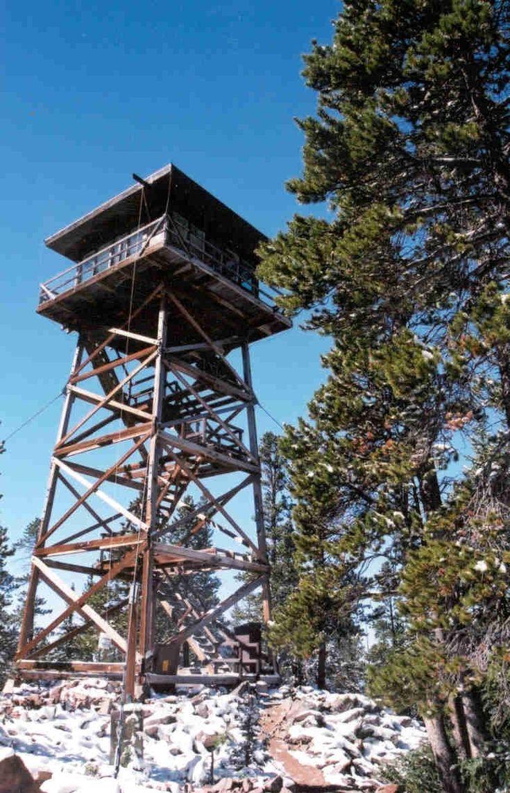 Laramie Ranger District rental Lookout tower, Wyoming