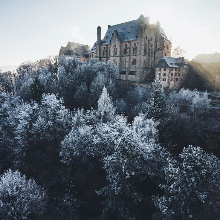 "16.3k Likes, 174 Comments - German Roamers (@germanroamers) on Instagram: ""A cold winter day in Marburg. Shot by: @hannes_becker #weroamgermany"""