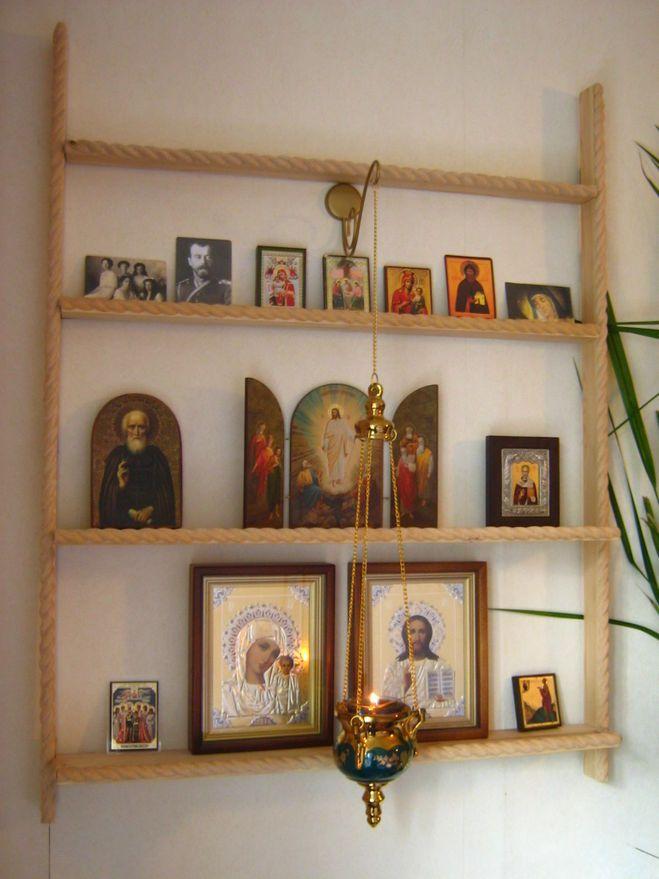 домашний иконостас как расположить иконы фото больше нраву строгая