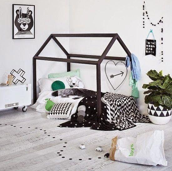 17 best ideas about house beds on pinterest diy toddler. Black Bedroom Furniture Sets. Home Design Ideas