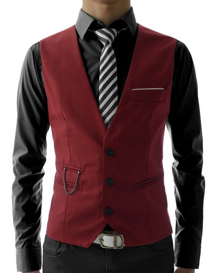 extraordinary black vest outfit mens