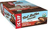 #9: CLIF Nut Butter Filled  Organic Energy Bar  Chocolate Peanut Butter  (1.76 Ounce Protein Snack Bar 12 Count)