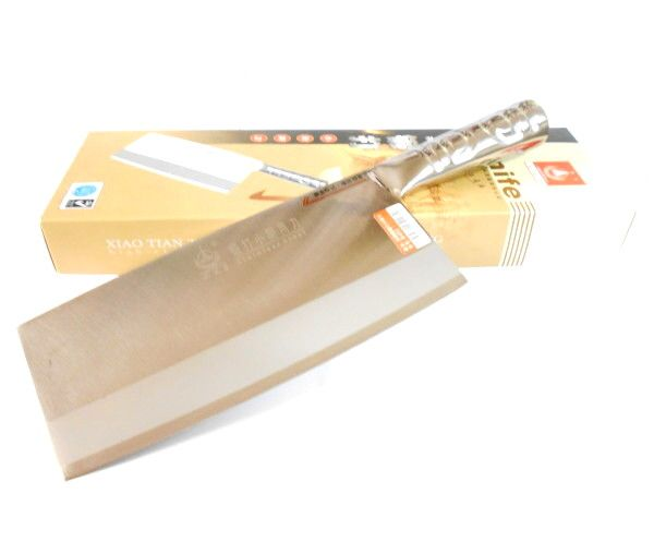 FREE Delivery available on Stainless Steel Chinese Cleaver [Chopper] at the no1 Asian Supermarket online. Buy Stainless Steel Chinese Cleaver [Chopper] and more! Free delivery conditions apply.