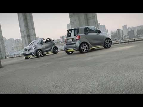 Ode an den Asphalt | smart | BRABUS edition asphaltgold - YouTube