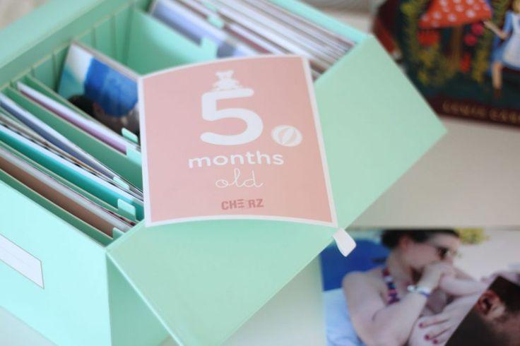 J'ai testé : la Baby Memory Box, de Cheerz – Le Fil à Coudre d'Anna