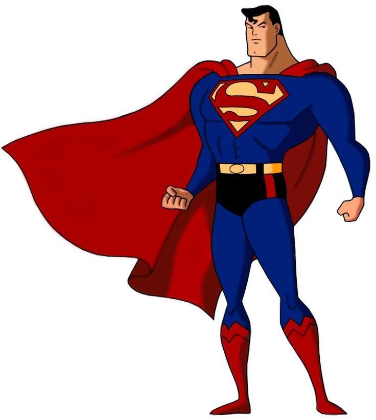 Resultado de imagem para superman desenho animado liga da justiça