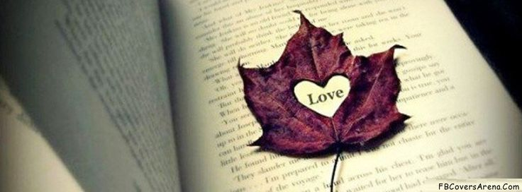 Heart Leaf Facebook Cover