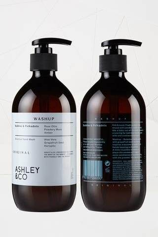 WashUp With Natural Antiseptics For your hands A special combination of natural antiseptics, like grapefruit...