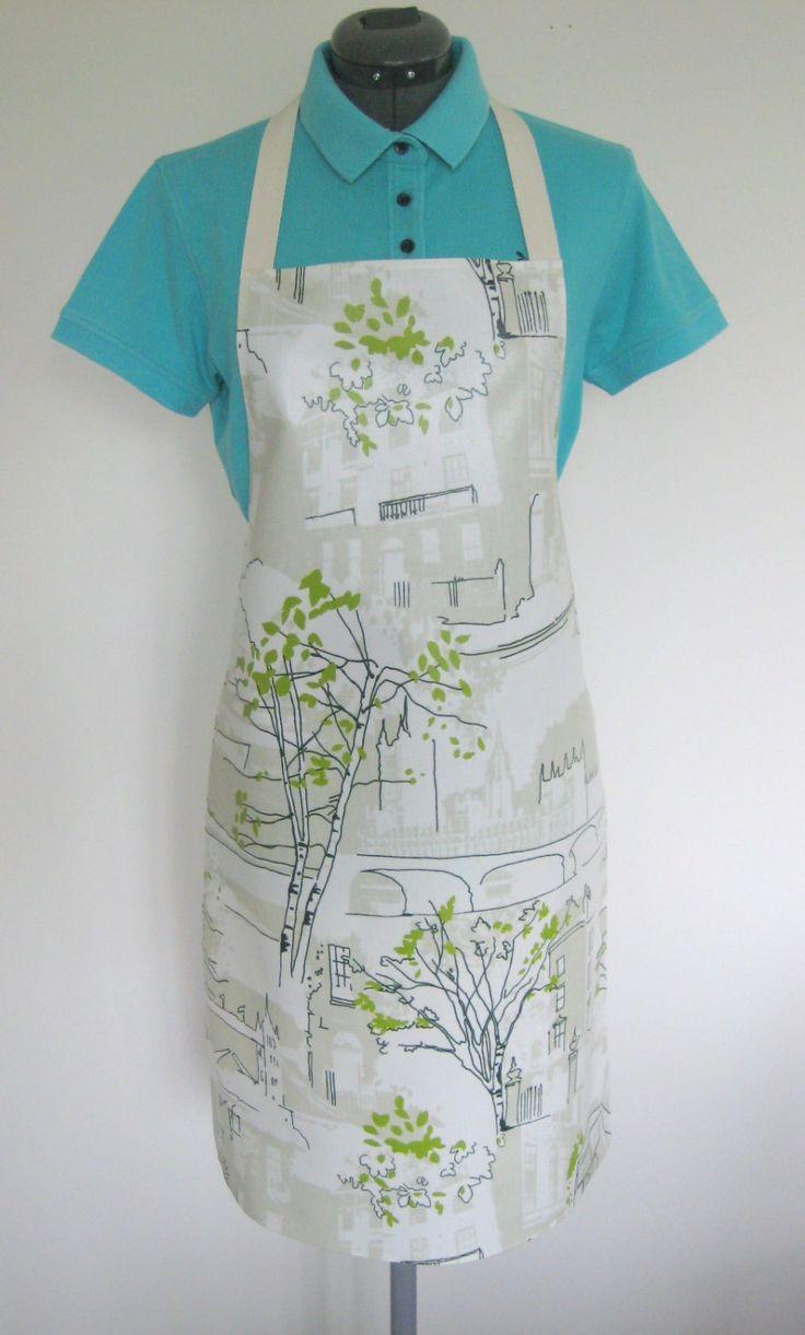 White apron london - Adult Matt Oilcloth Apron Sketches Of London Pvc Apron Waterproof Apron Protective Apron