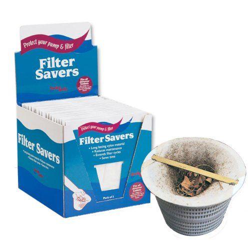 Pool Filter Savers - Skimmer Socks (5-Pack)