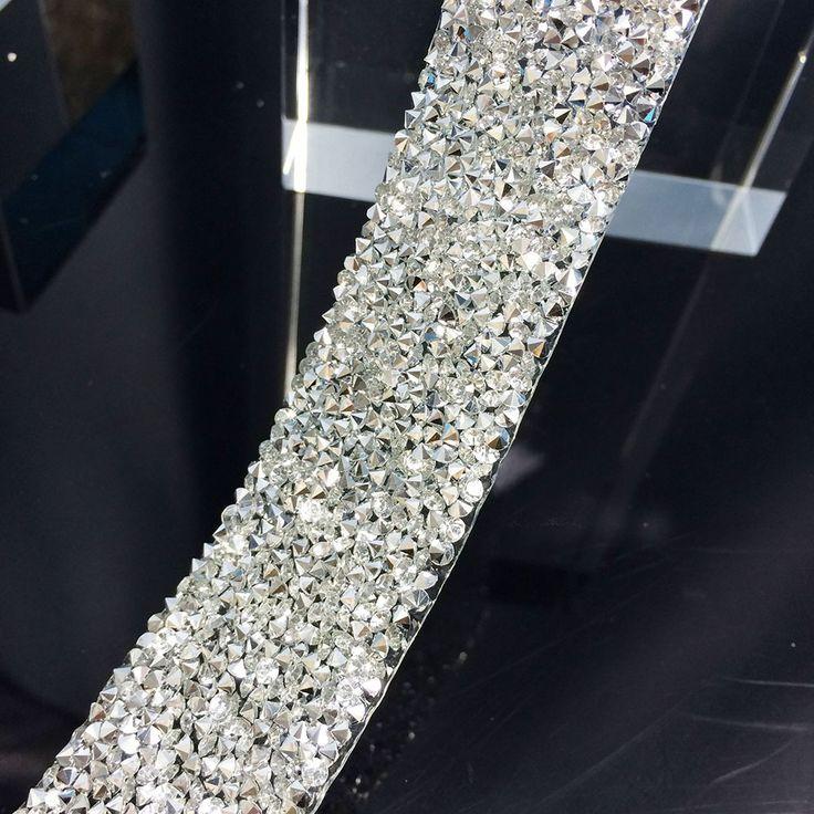 Бесплатная пересылка ясно с серебряный кристалл rhinestone свадьба полосы, 3 см ширина, фантазии свадебные dressbelt отделка, свадьба торт кольцевание