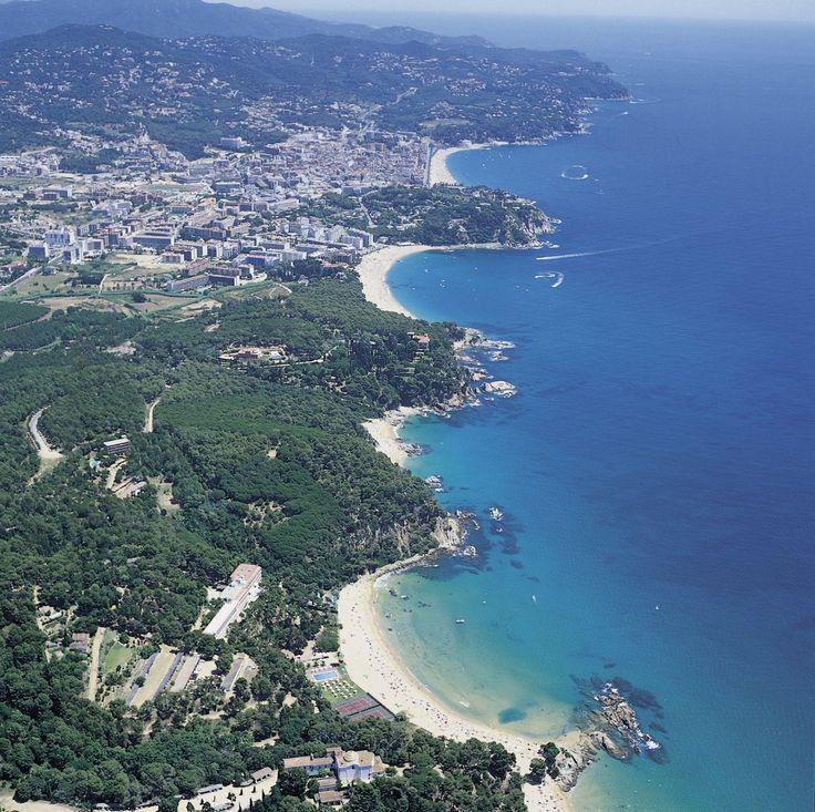 Piękne wybrzeże Hiszpania