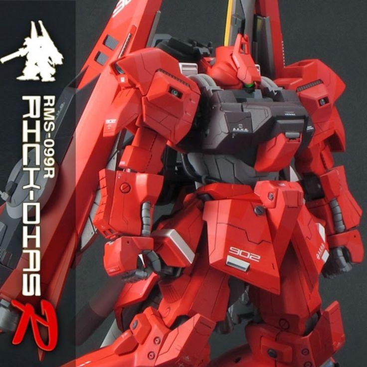 Custom Build: HGUC 1/144 Rick Dias - R - - Gundam Kits Collection News and Reviews