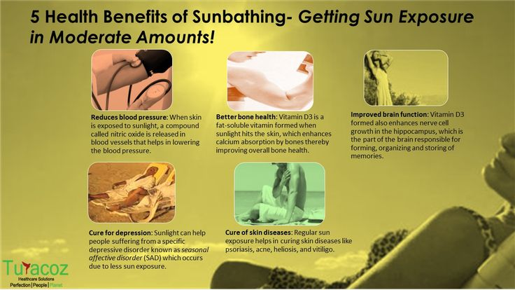 #TuracozHealthcareSolutions tells about 5 #HealthBenefits of #Sunbathing, Getting exposed to #Sun in moderate amounts for #GoodHealth.