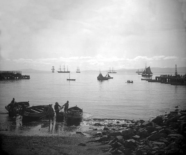 Morning at Table Bay, Cape Town 1898 | Flickr - Photo Sharing!