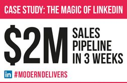 EKA: $2m Sales Pipeline in 3 Weeks.  How Modern helped Eka enter a new #market, in new territory with a new #product and develop a multi-million dollar #sales #pipeline from scratch in just 3 weeks. READ THE LEAD GENERATION CASE STUDY by clicking on the image.  #marketing #agency #clientservice