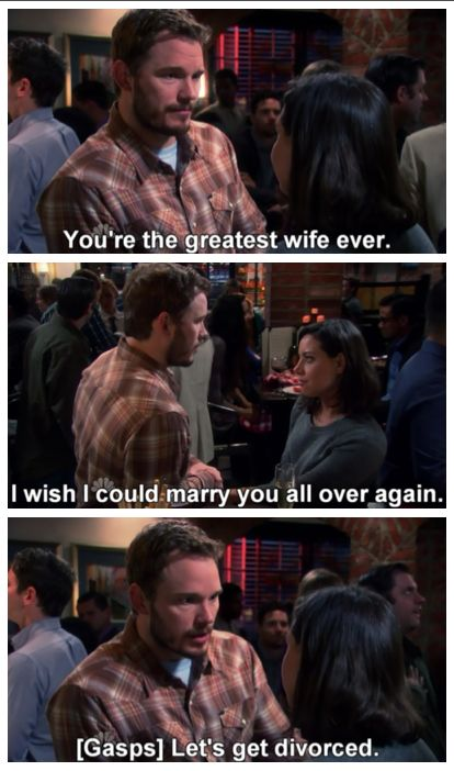 andy and april relationship goals text
