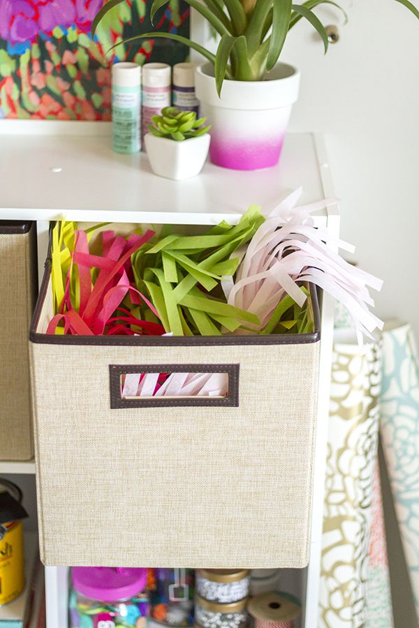 9 Creative Diy Room Decorations: Creative Craft Room Storage And Organization